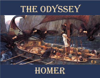 the odyssey an epic poem The homeric epics are written in an artificial literary language or 'kunstsprache' only used in epic hexameteric poetry homer: odyssey, 2 vols.