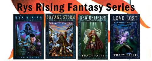 Rys Rising fantasy series by Tracy Falbe