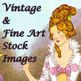 Vintage and fine art stock images