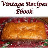 Vintage recipes from 1920s Canada